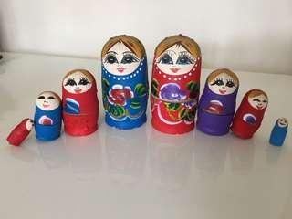 俄羅斯娃娃記念品