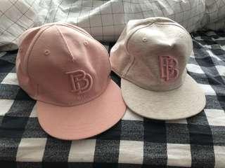 全新h&m帽 2頂$50