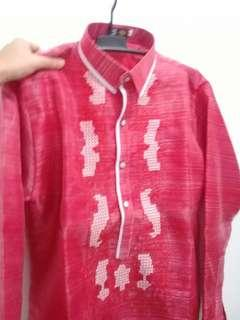Imported Red Barong- Large