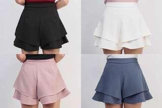 NEW High Waist Short Pants