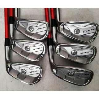 Yamaha Inpres XV Forged 5-P with Tour AD Shafts
