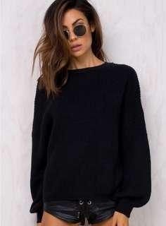 Black Knit Jumper BNWT