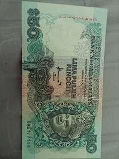 Nice series 50 old note