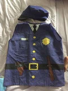 Policeman pretend vest