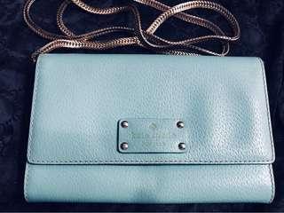 Authentic Kate Spade Natalie Wellesley Crossbody Wallet Leather Bag