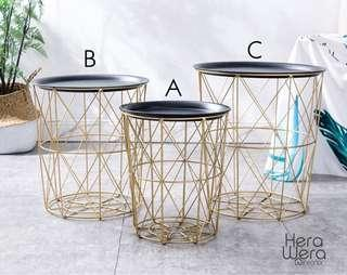 READY STOCK - side table /Storage Basket