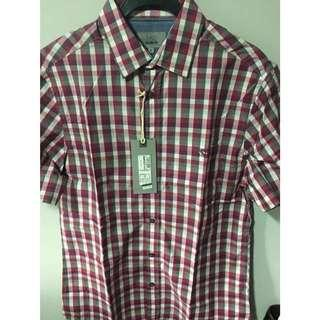 Marks & Spencer checkered shirt