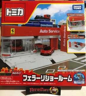 Tomica Ferrari showroom town ( japan exclusive)