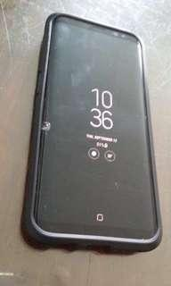 Samsung S8 with small crack on glass