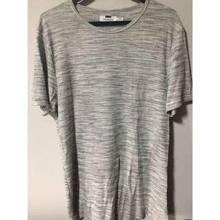 Topman grey textured tee