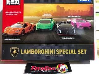 Tomica Lamborghini gift set