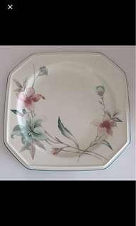 Clearing Mikasa Royal 503 French Lily Design.2pcs left.