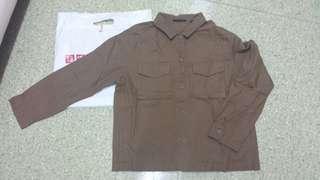 Uniqlo Light Jacket Shirt NEW