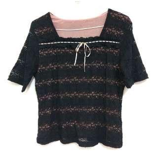 🚚 🎀蕾絲上衣🎀#九月女裝半價