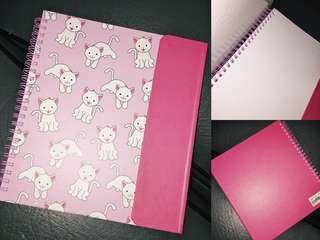 Pink Kitty Sketchbook