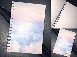 Mini Galaxy Sketchbook
