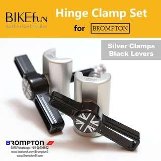 BIKEfun Hinge Clamps & Levers (for Bromptons)