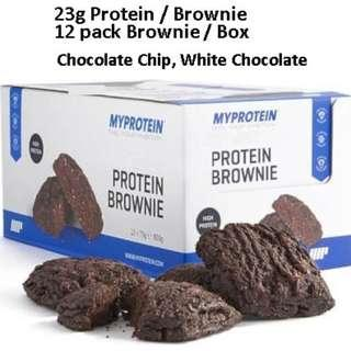 12pack Brownie Protein Myprotein [ Listed : Sept 2018]