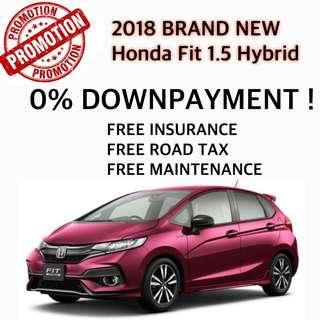 Honda Fit Hybrid 1.5 Auto