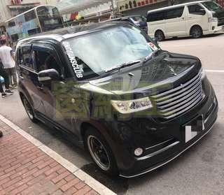 🌟✨豐田 BB ZQ 全車5窗防曬磁石窗網安裝示範🌟⭐