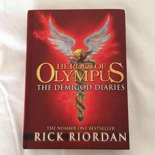 Percy jackson the demigod diaries!