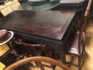 小葉紫檀畫桌