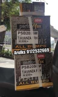 Toyota Avanza 1.3/1.5  Apm Performax Absorber