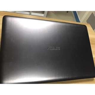 """(二手)ASUS K501UX 15.3"""" i7-6500U 4G 1TB/256G SSD GTX 950M 2GB Gaming Laptop 95%NEW"""