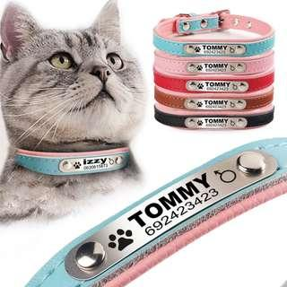 🚚 Customise Personalise Pet ID Tag #Collar #Dog #Cat #Anti Lost #CAROUPAY