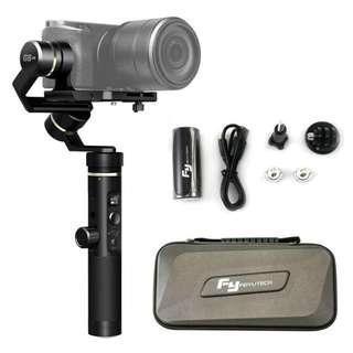 Feiyu Tech G6 Plus 3-Axis Handheld Splashproof Gimbal for Smartphones, Action Cameras, Digital Cameras, Mirrorless Cameras