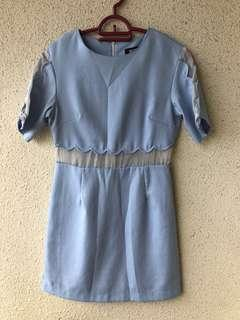Missguided Mesh Dress