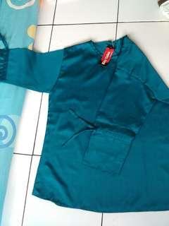 blouse baloteki caeeeem hijau tosca.only 50 rb
