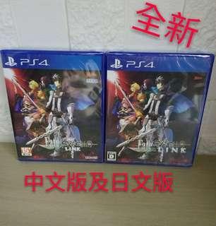 全新PS4 Fate 中文版或日文版 現貨發售