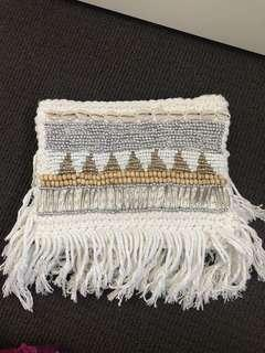 Crocheted clutch