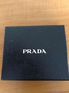 Prada small wallet box (genuine)