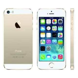 Apple Iphone 5S Gold Color