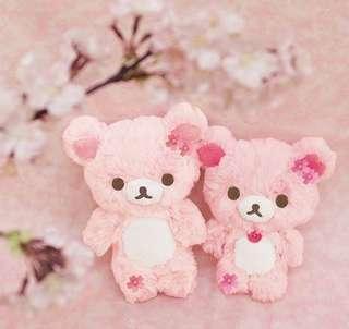 新上市~櫻花粉拉拉熊吊飾-2018年櫻花限定版