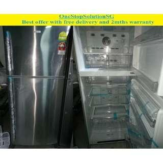(Brand New) Electrolux 388L, 2 doors BIG  fridge / refrigerator ($700 + free delivery & 2mths warranty)
