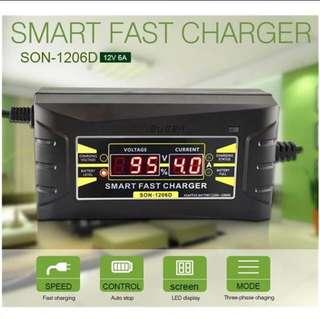 Fully automatic car battery charger