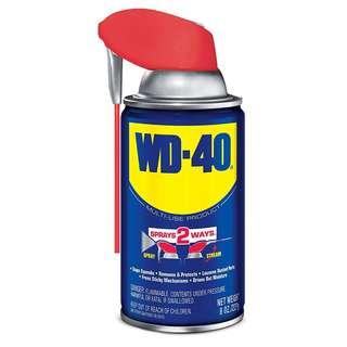 WD-40 Multi-Use Product - Multi-Purpose Lubricant with Smart Straw Spray. 8 oz