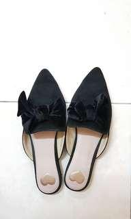 Velvet Ribbon Shoes