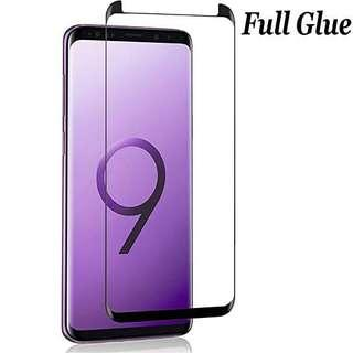 Full Glue tempered glass for Samsung Note 8 S8 s8+ s9 s9+