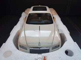 1/18 Kyosho Rolls Royce Ghost in English White