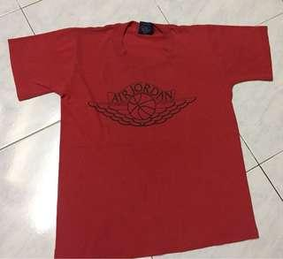 Vintage nike ball wing t shirt