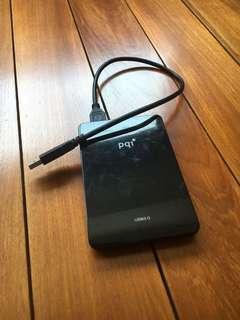 PQI 500GB external hard drive