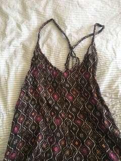 Rip curl maxi dress