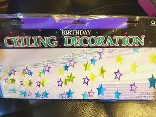 Birthday Ceiling Decoration