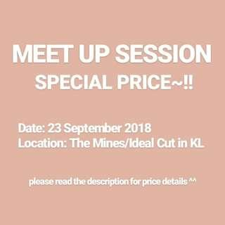 📍 MEET UP SESSION