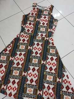 H&M Tribal Printed Dress