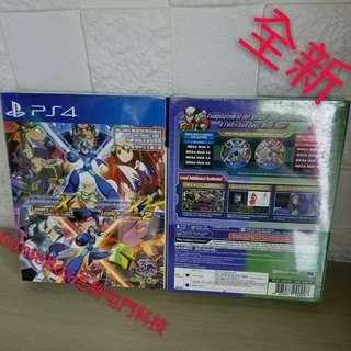 全新PS4 洛克人X 1+2 行貨 日英文版